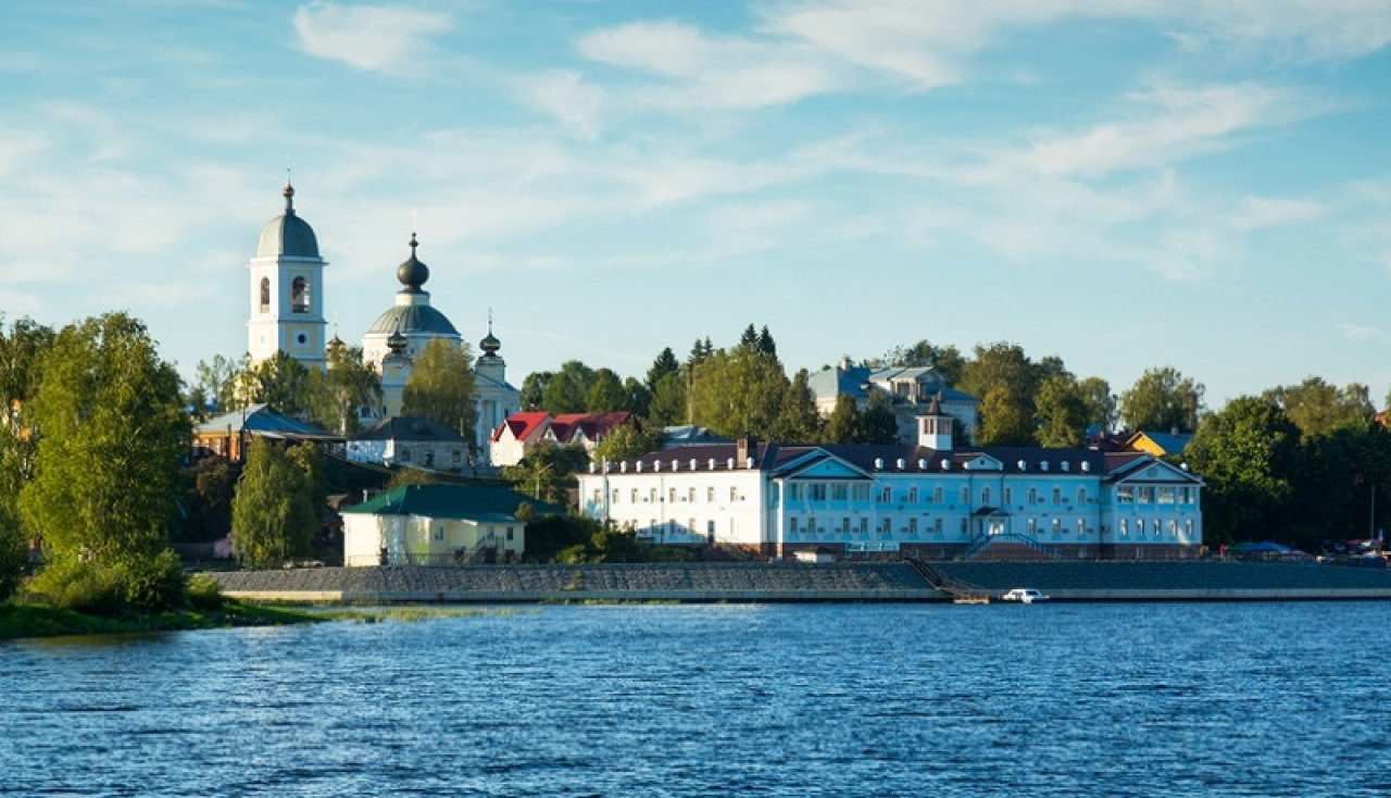 Вид на Мышкин с Волги. Фото: Iakov Filimonov / Shutterstock