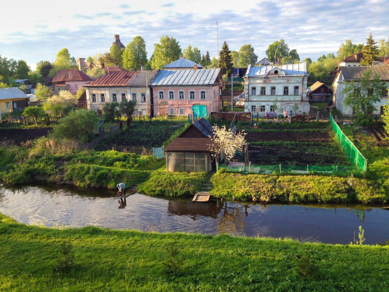 Вятское было признано самой красивой деревней вРоссии. Фото: Ирина Мос / Shutterstock