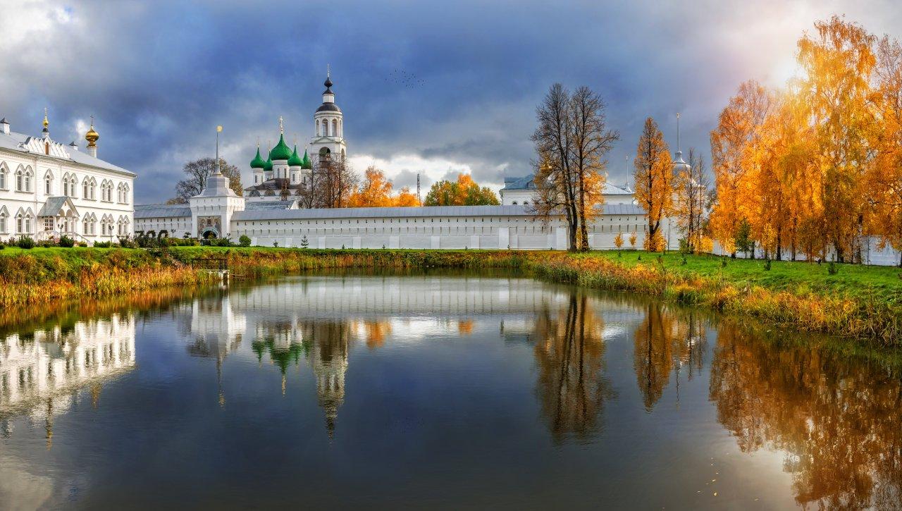 Толгский монастырь в Ярославле. Фото: Юлия Батурина / Shutterstock