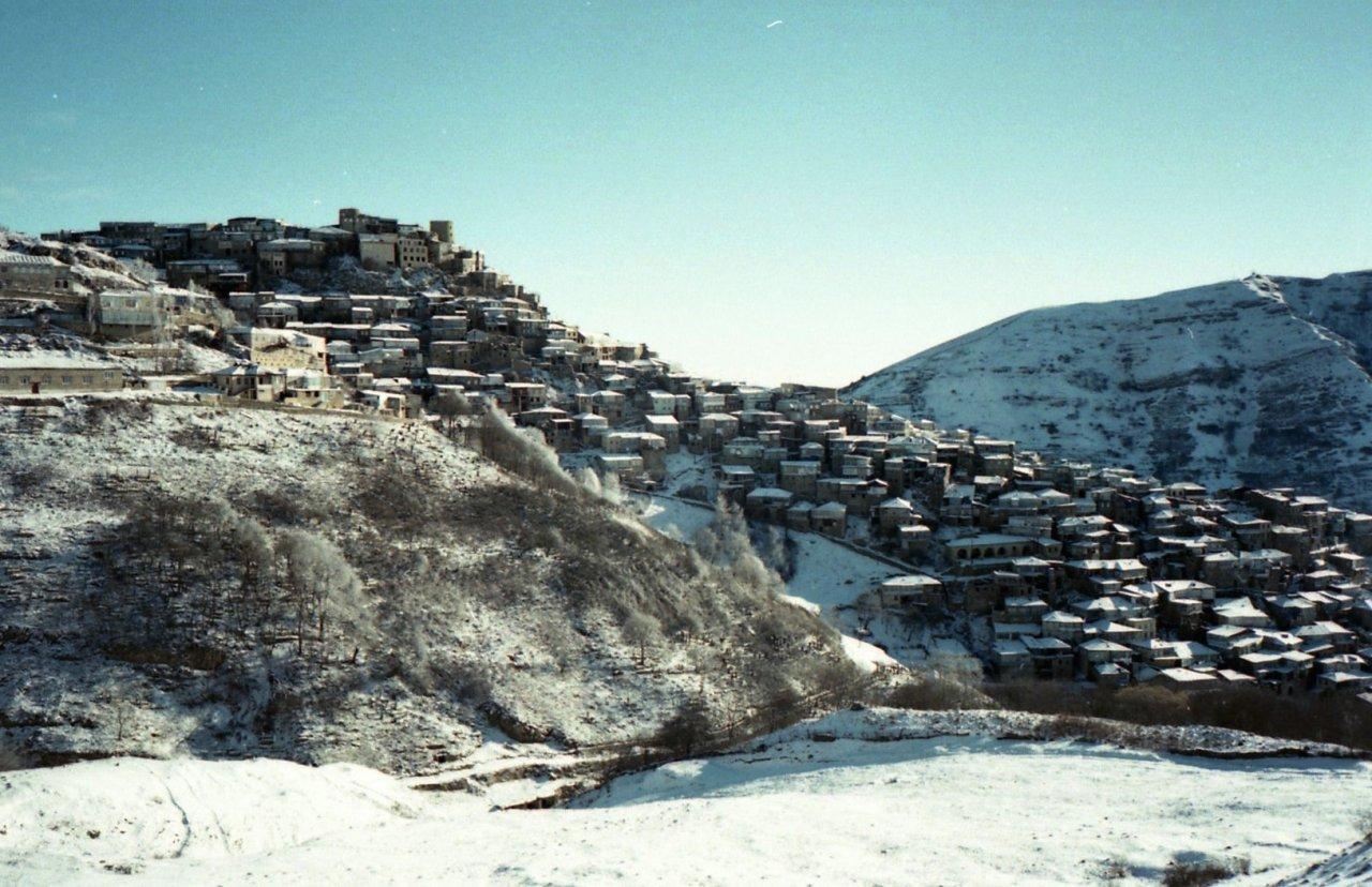 Вид на село Кубачи