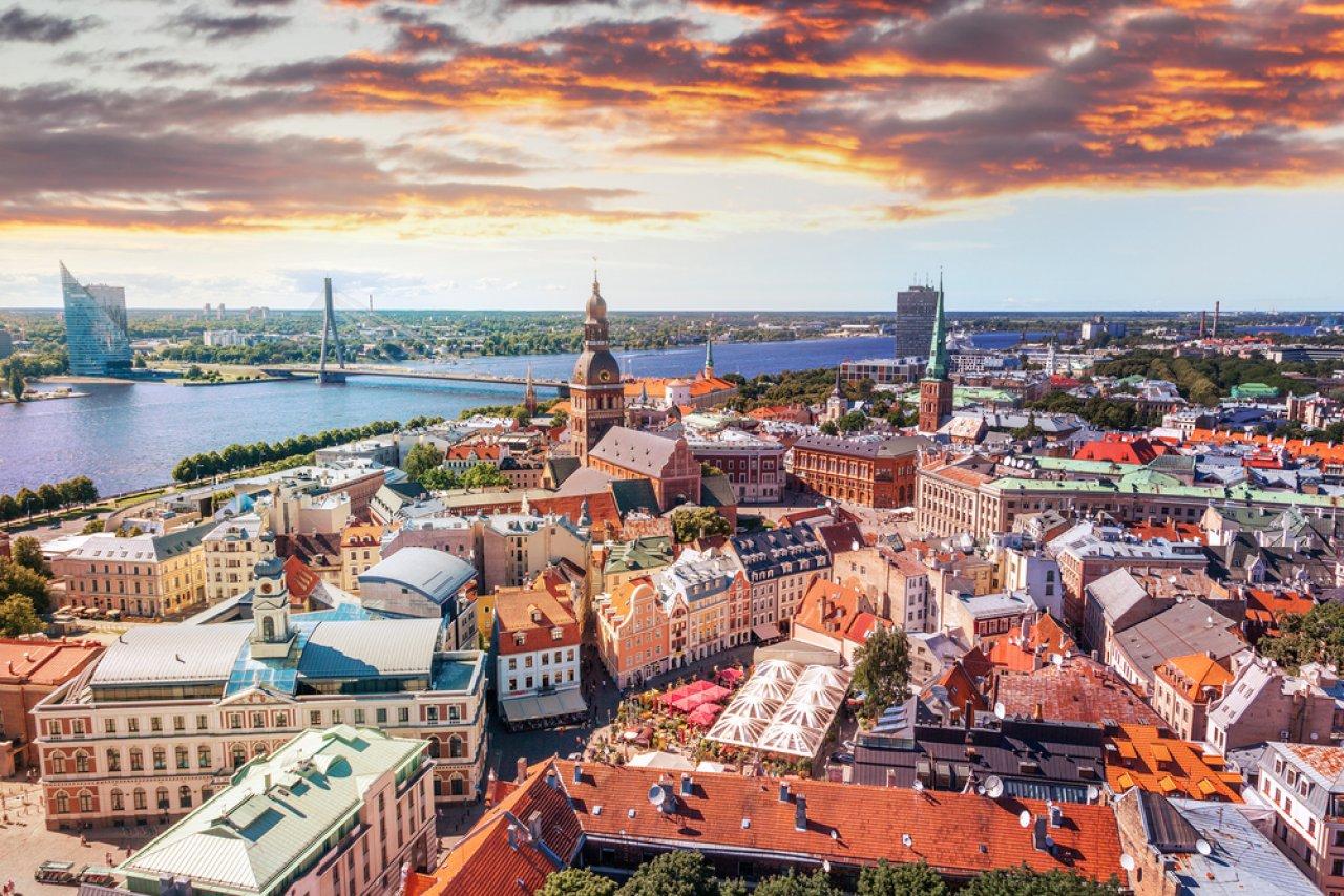 Панорамный вид на Ригу. Фото: Olesya Kuznetsova / Shutterstock