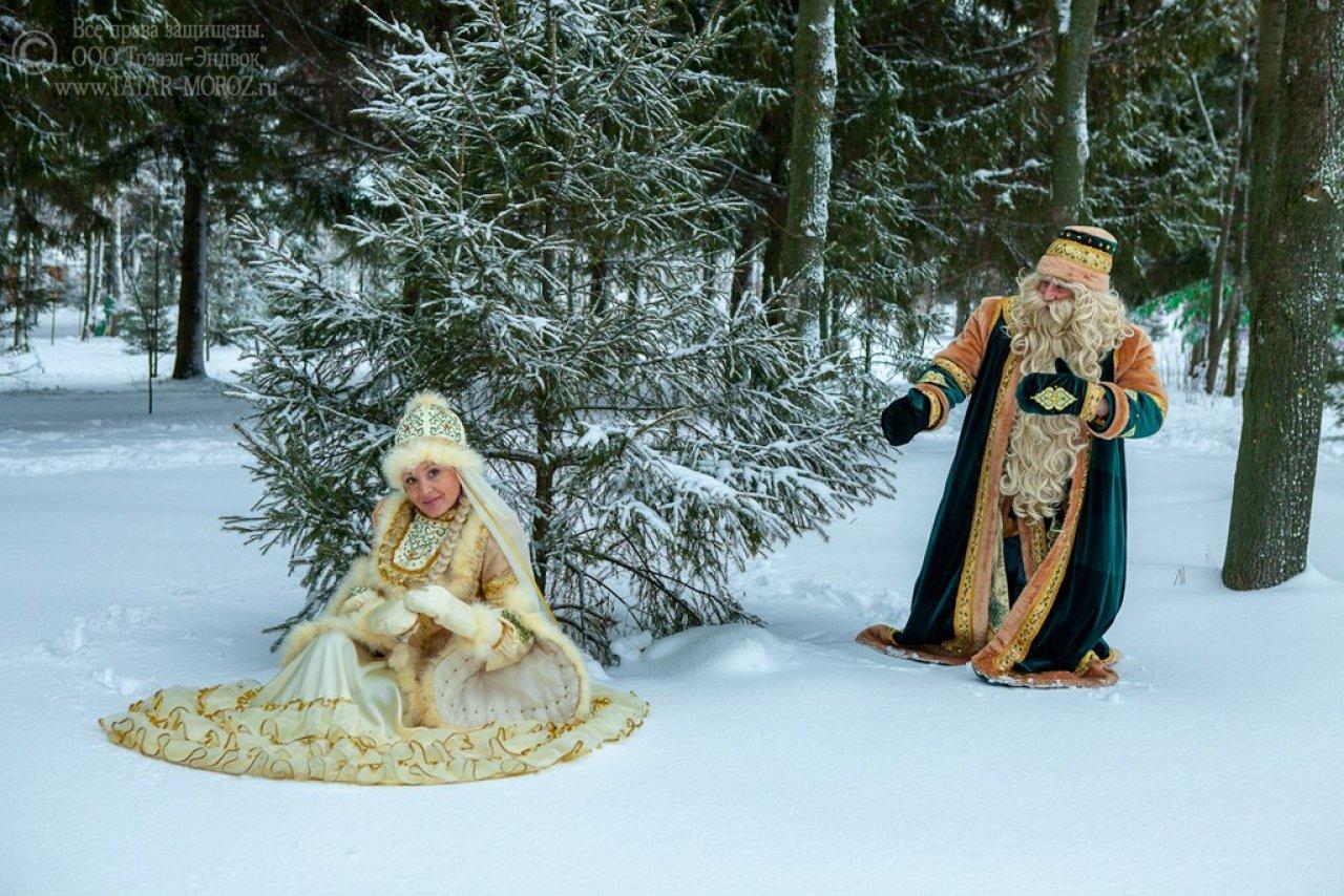 Кыш Бабай — татарский Дед Мороз