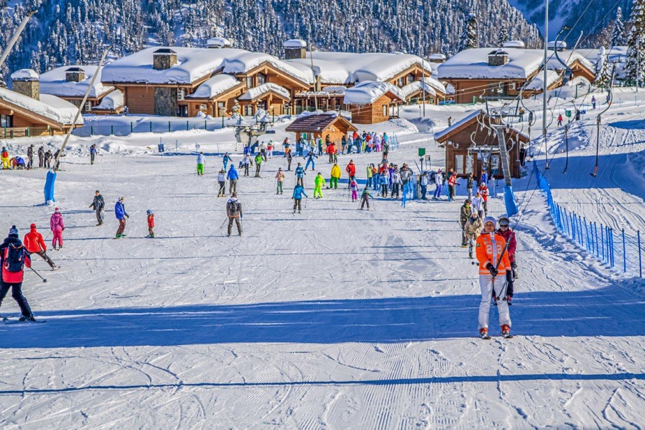 Учебная трасса на «Газпроме». Фото: Sivenkov / Shutterstock.com