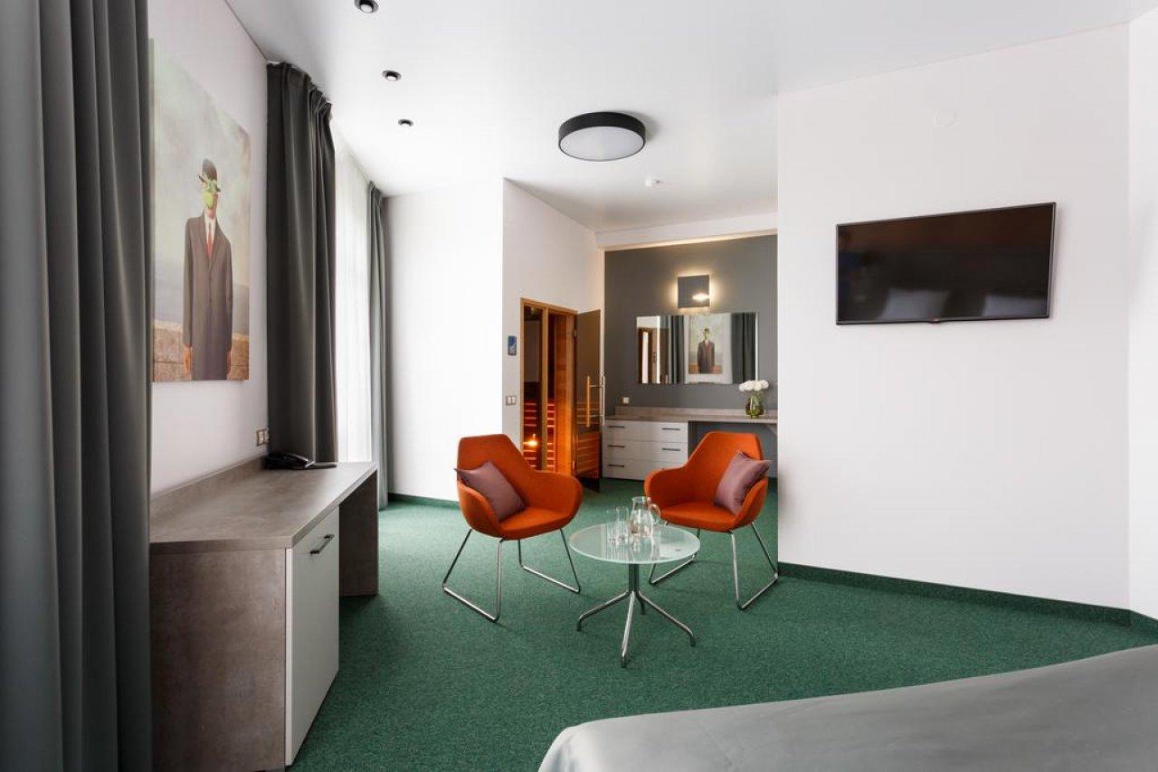 Двухместный люкс с сауной. Фото: отель ПАРАDOX