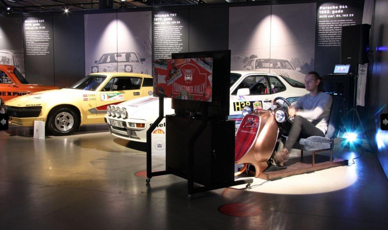 Тест-драйв гоночного болида в рижском мотор-музее