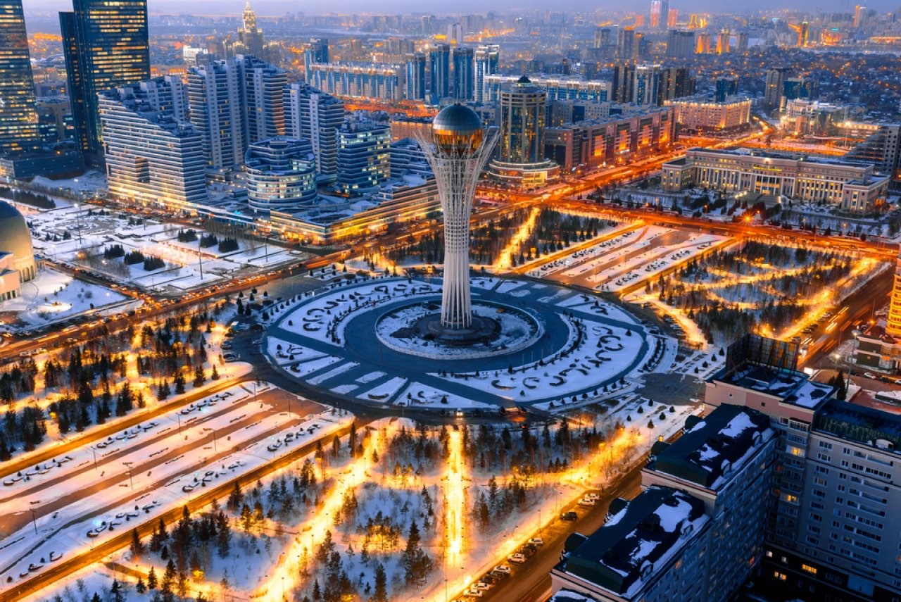 Астана. Фото: evgenykz / Shutterstock