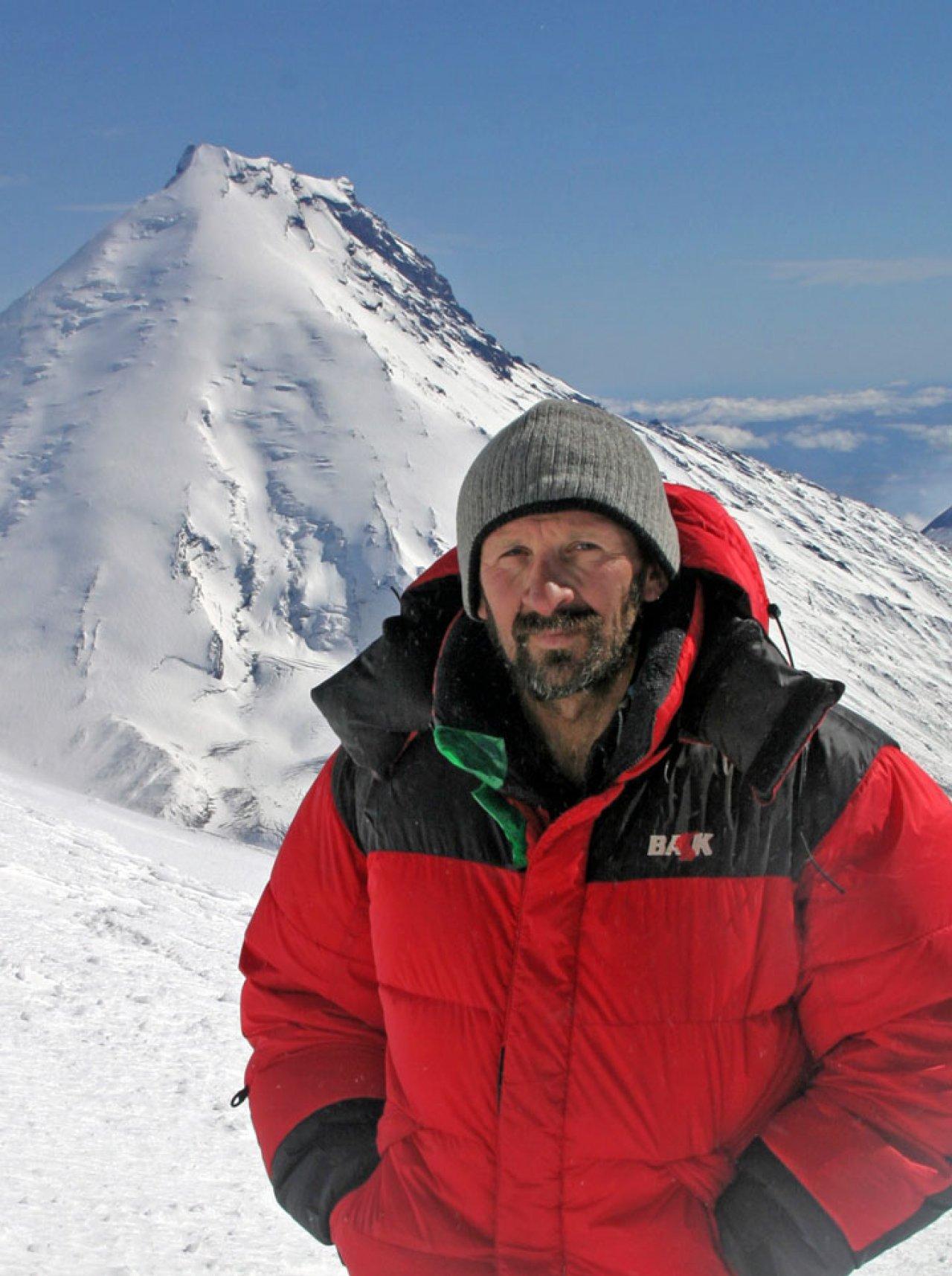Вулканолог Михаил Зеленский. Фото: личный архив