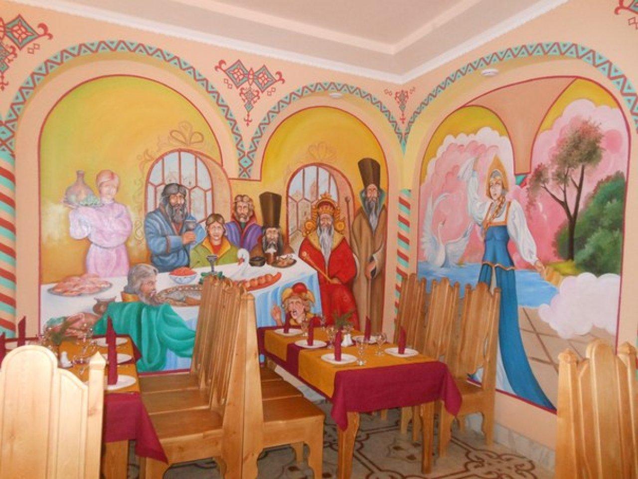 Фото: ресторан «Иван-царевич» в Ростове Великом