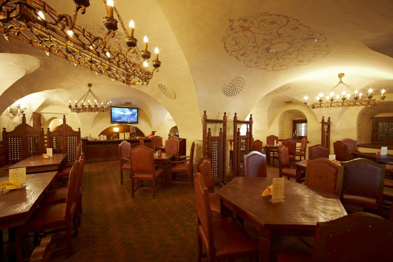 Купеческие интерьеры ресторана  «Двор Подзноева»